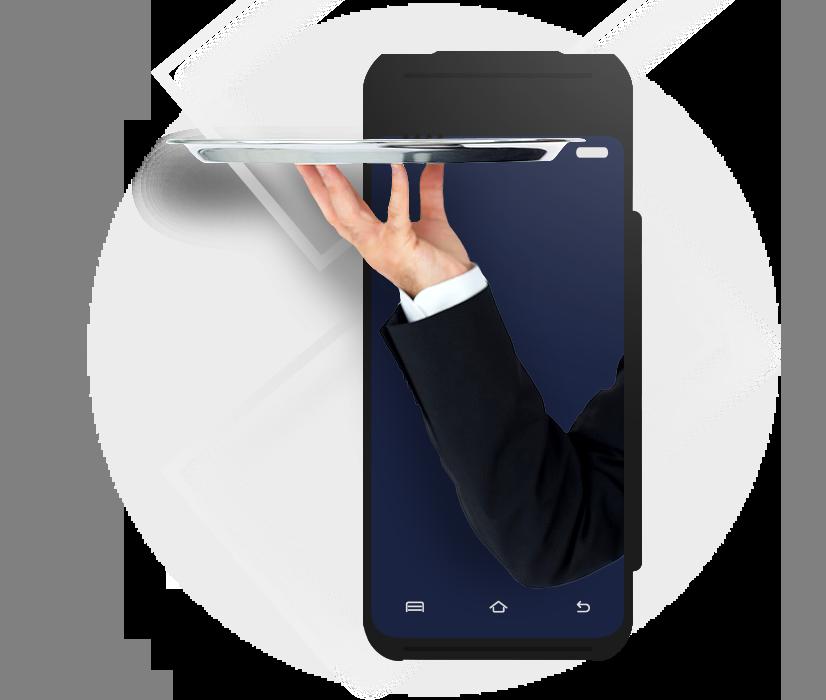 mobilní číšník od dotypay